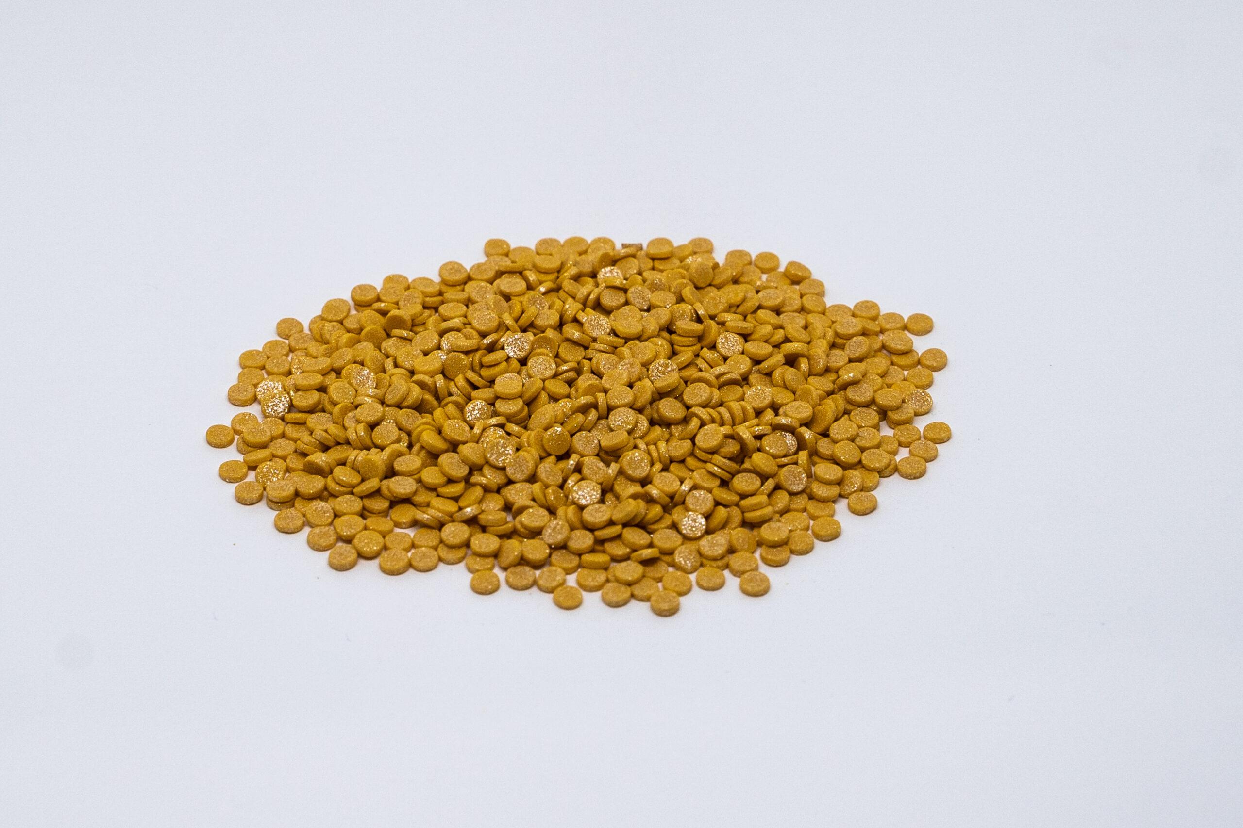 Gold confeti
