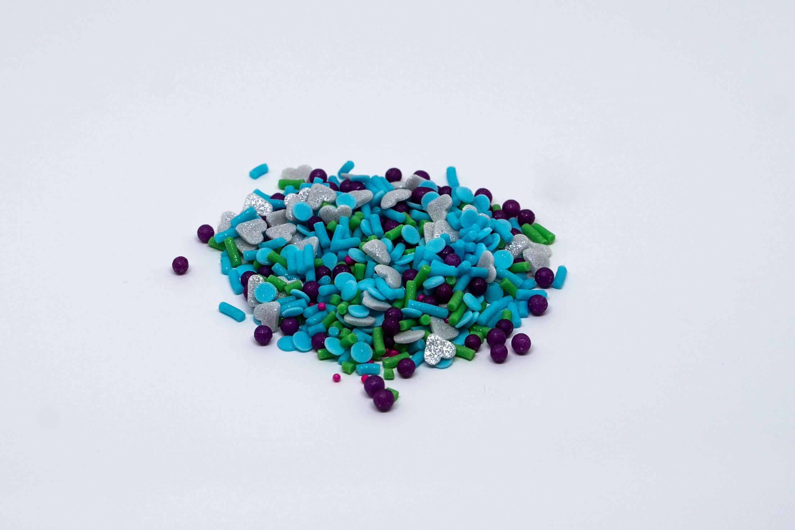 Mini pearls + confeti + sprinkles mix