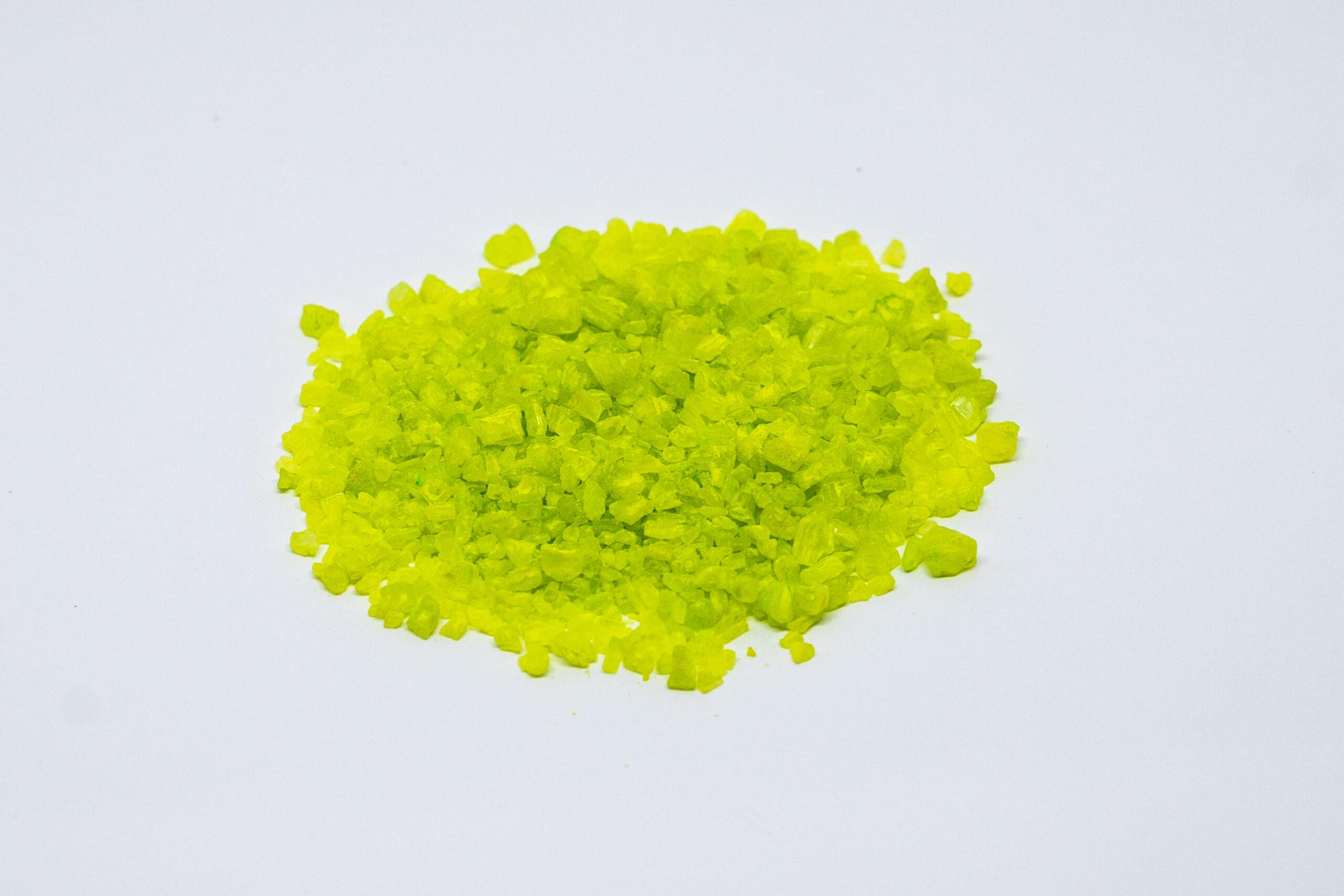 Light green salt