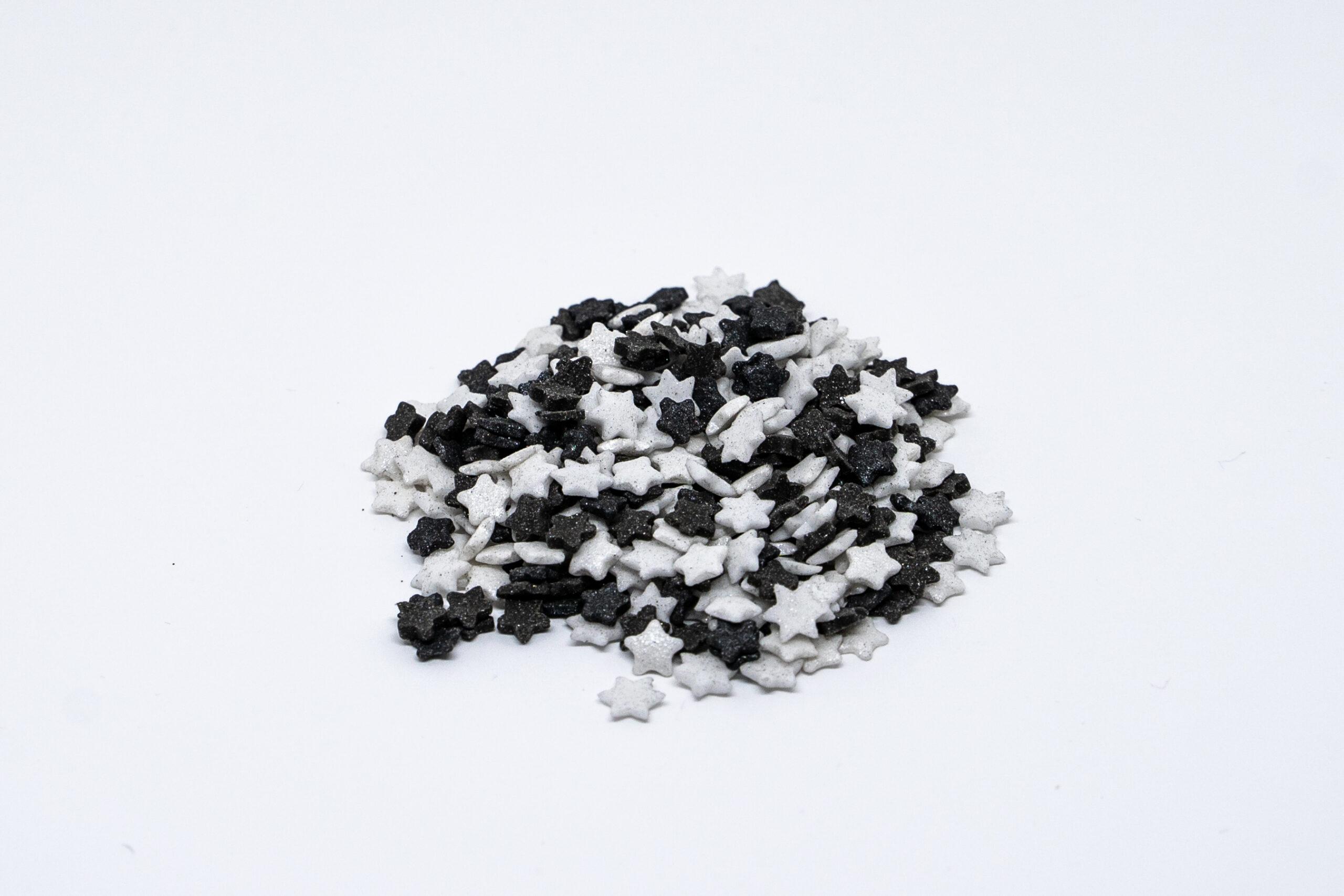 White and Black stars